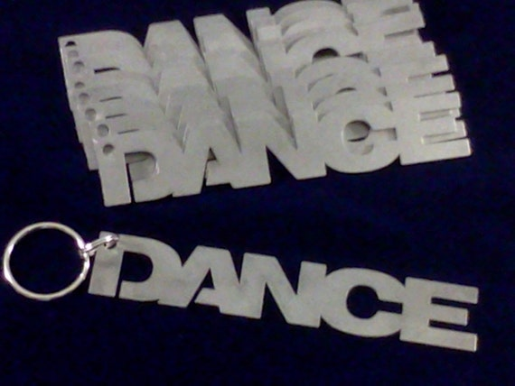 Dance Keyc hain - Stainless Steel