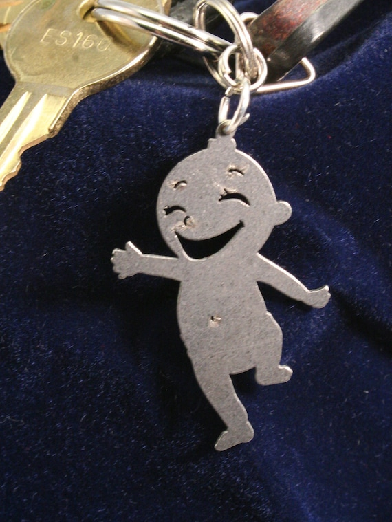 Happy Baby Girl Charm