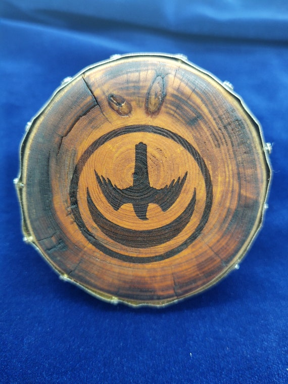 Miniature Wood Shield - House Arryn