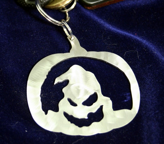 Boogie Man Ghost Stainless steel Pumpkin Halloween Ornament
