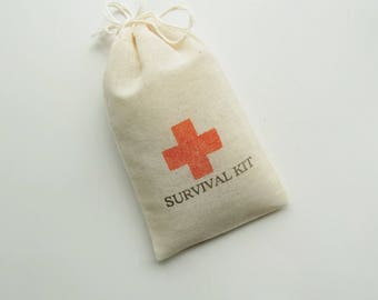 diy Wedding Favors-SURVIVAL KIT-Favors for Guests-Wedding Favor Bags-Red Cross-Wedding Favor Ideas-Wedding Party Ideas-Party Bags
