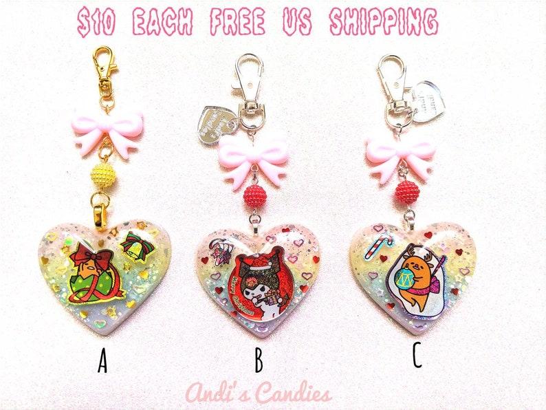 Ornament Option Sanrio Christmas Resin Bag Charm