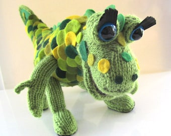 Hand Knitted Soup Dragon * Made to order *