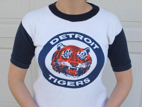 1970s Detroit Tigers sweatshirt, throwback sweatsh