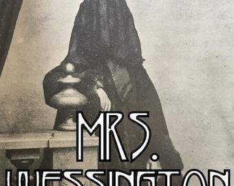 MRS. WESSINGTON || Fir Trees with Oakmoss, Black Tea, Leather, and Ghostly Violets
