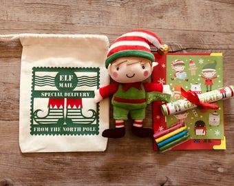 Elf On A Shelf - Naughty Elf - Elves - Santa - Christmas - Festive - Father Christmas - Fun - Children - Gift