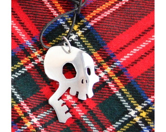 Laughing Skull Necklace