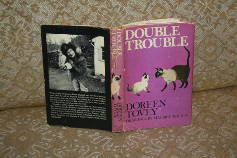 Vintage 1970s Doreen Tovey 4 Book Lot
