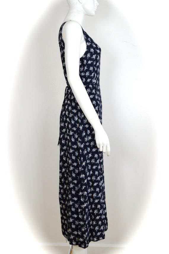 ON SALE 90s grunge dress: long floral grunge / di… - image 3