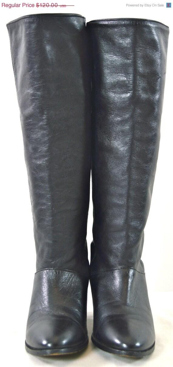 ON SALE FRYE Boots: Frye // Vintage Frye // Black