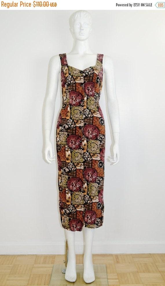 ON SALE 90s Grunge Dress: 90s cage dress / cage ba