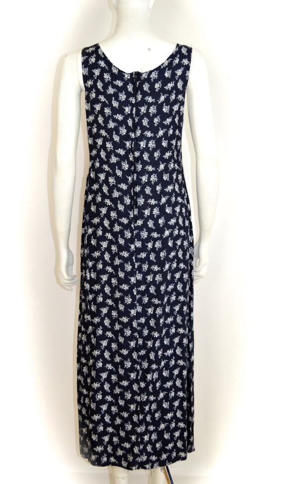ON SALE 90s grunge dress: long floral grunge / di… - image 5