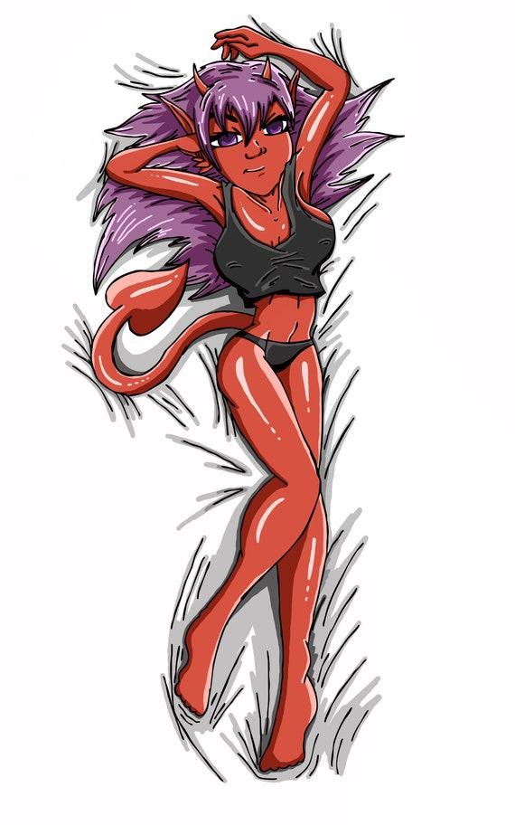 Devil Girl Sindy Dakimakura Body Pillow