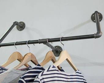 wardrobe Industrial design rack steel