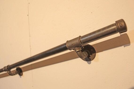 Handlauf Treppengeländer Industriedesign  Stahlrohr