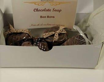 Vanilla Bear FUN Soap of the Month- February- Chocolate Bon Bon Soaps!