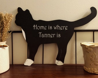 CAT Sign | Pet Sign | Personalized Cat Sign