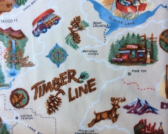 Timberline Flannel Fabric