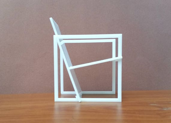 Miniatuur Design Meubels : Spectro stoel schaal kwint miniatuur poppenhuis etsy