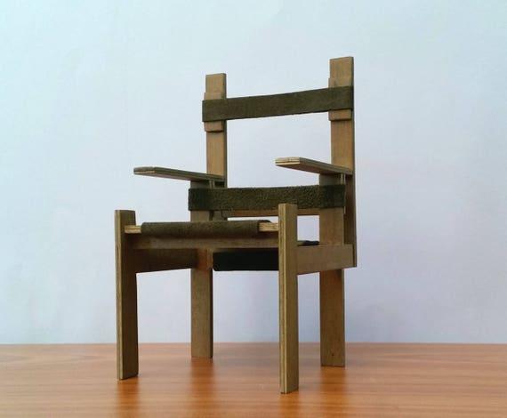 Sedia Chair Modello Mobili Furniture Regalo per Arredamento Dollhouse