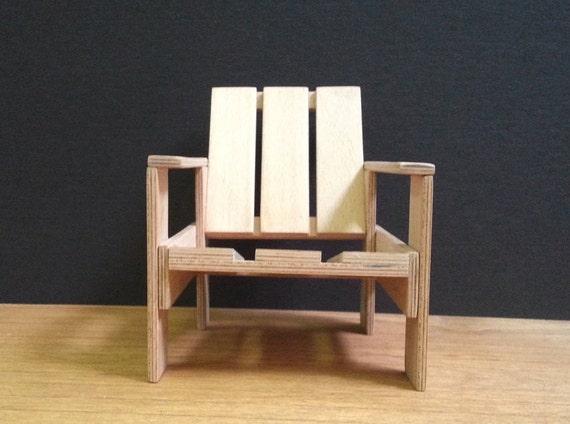 Gerrit Rietveld Kratstoel : Gerrit rietveld krat stoel collectable miniatuur meubels etsy