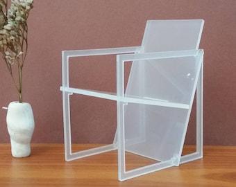 Spectro Chair 1:6 Scale,Kwint,Miniature Dollhouse Furniture,Replica,Modern Minimalist Design Minimodel