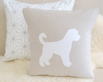 Goldendoodle Pillow Cover - Customize Colors
