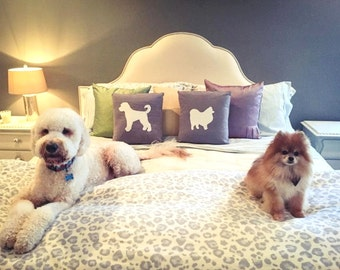 Dog Pillow Cover Pair - Mix & Match Breed