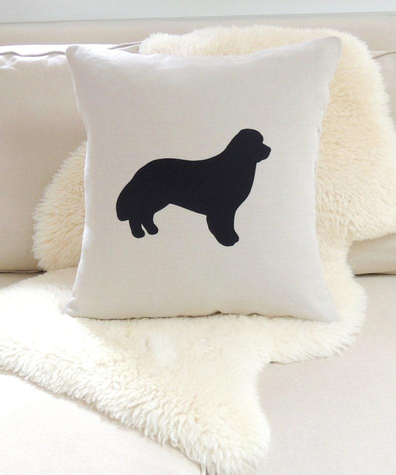 Newfoundland Dog Pillow Cover image 0