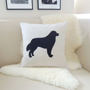 Bernese Mountain Dog Pillow Cover Etsy