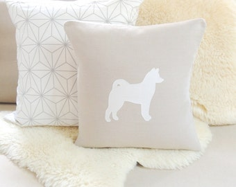 Shiba Inu Pillow Cover - Modern Minimalist