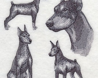 DOBERMAN DISH TOWEL