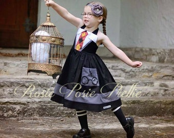 Harry Potter Dress, Harry Potter, Gryfinndor Dress, Hogwarts Dress, Hogwarts, Harry Potter World, J.K. Rowling Dress, Halloween Costume