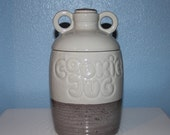 McCoy Cookie Jug No.213, Collectible Vintage McCoy Pottery, Double Handled Cookie Jar American Pottery Made In USA Vintage Americana