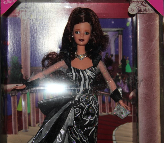 COTA Charity Ball Barbie Doll Brunette  and dance till dawn Barbie