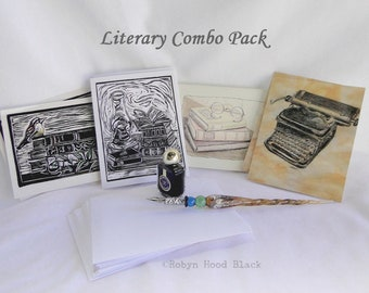 Literary Combo Pack Note Cards