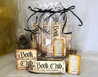 Book Club Gift Pack Bundle - Bookmarks, Magnets and Coasters