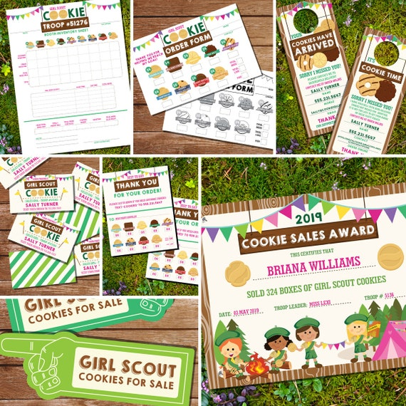 photo about Printable Girl Scout Cookie Order Form known as Lady Scout Cookie Printables - Woman Scout Cookie Vendor