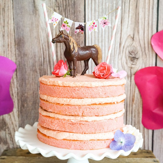 Prime Horse Party Cake Decorations Horse Birthday Party Cake Etsy Funny Birthday Cards Online Alyptdamsfinfo