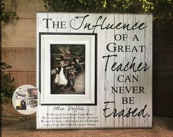 Custom Teacher Appreciation Gift