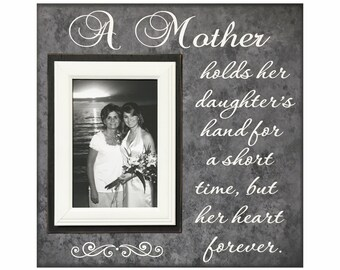 Gift For Mother Personalized Photo Frame To Mom A Mother Etsy