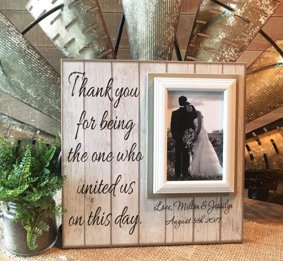 Personalized Wedding Officiant Gift Officiant Personalized Etsy