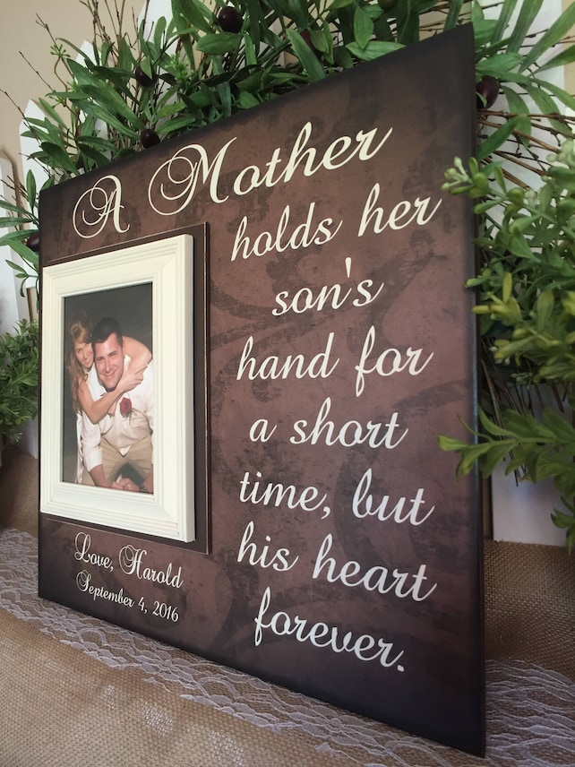 Mother Of The Groom Gift Ideas Mother Of The Groom Frame Gift