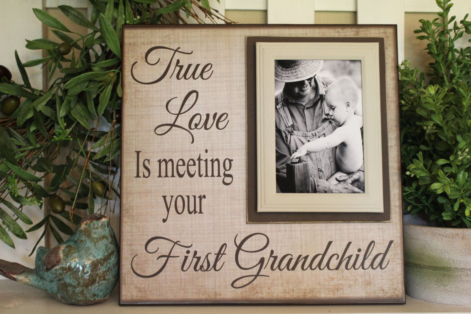 New Grandparent Unique Gift For Grandparents First Etsy