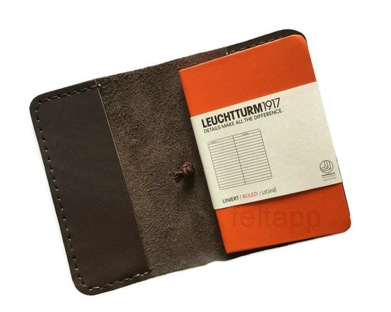 Leather A7 Notebook Cover Mini Case Journal Holder Leuchtturm1917