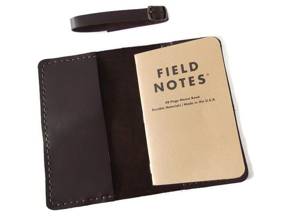 Leather Field Notes Portfolio Cover Moleskine Cahier