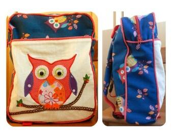 Toddler Backpack PDF pattern, Kids Backpack PDF pattern, Backpack sewing PDF pattern, Preschool Backpack Pattern, Kids Backpack pdf,