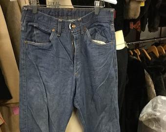 Sears Roebuck Blue Jeans Waist 30