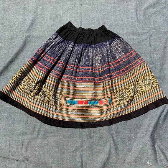1960s Colorful Skirt