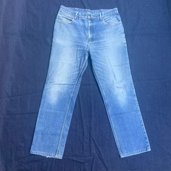 1970s Wranglers Blue Jeans